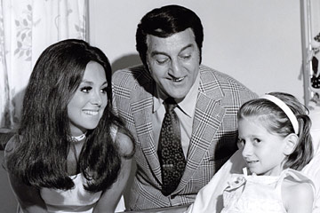 Marlo Thomas and Danny Thomas at St. Jude