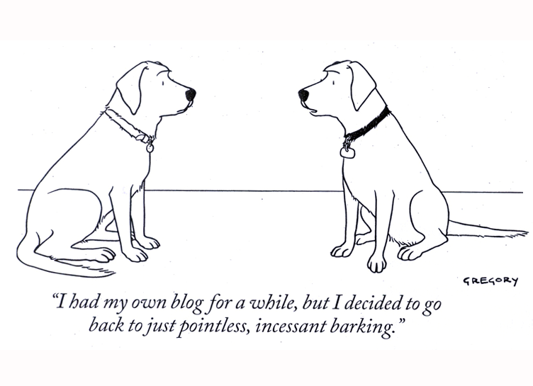 Laugh of the Day - Talking Dogs - The New Yorker - Marlo Thomas
