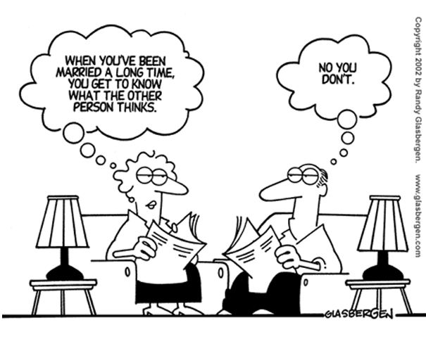 Funny Cartoon: The Married Couple